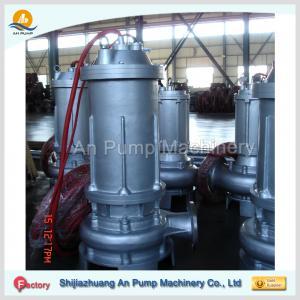 Cheap waste water treatment submersible sewage pump wholesale