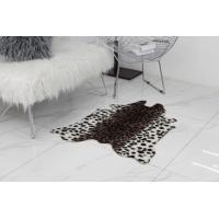 Cheap Animal Printed Faux Animal Shaped Rugs Carpet Large Cow Hide Floor Rug For Living Room wholesale