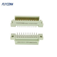 Cheap 5 10 Pin PCB Straight Male 2*10P 2 Rows 20pin Euro DIN41612 Connector wholesale