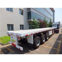 Cheap 40ft flatbed trailer with container twist locks   CIMC VEHICLE wholesale