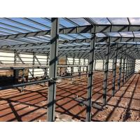 China Customized Steel Structure Warehouse Steel Frame Buildings With Mezzanine on sale