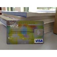 Cheap Advanced ATM Card / VISA Smart Card with High-tech Anti-fake Feature wholesale