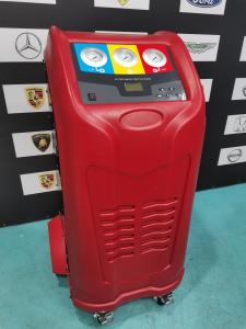 China Car Diagnostic Tool AC Recovery Machine Strong Vacuum Pump With Condenser on sale