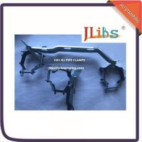 Buy cheap Epdm Rubber Lined Pipe Clamps Bracket R588 Support Metalico Supporto Per Colletton from wholesalers