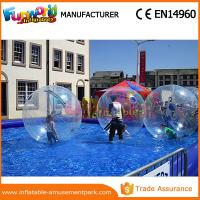 Cheap Welding Summer Transparent Inflatable Zorb Ball Water Sphere Ball 1 Year Warranty wholesale