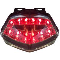 Cheap Bright Motorcycle Spare Part LED Tail Lamp Taillight Red Blue 08-12 KAWASAKI-NINNJA ZX250R wholesale