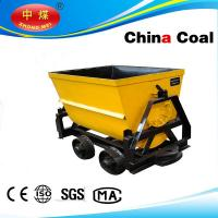 Cheap china coal manufacture KFU1.0-6 Bucket Dumping Mine Car wholesale