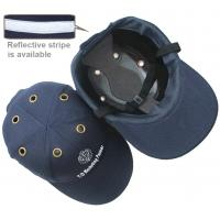 Cheap HARD HAT SAFETY BUMP BASEBALL CAP HEAD HELMET BLACK LIGHTWEIGHT PROTECTION wholesale