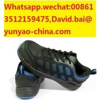 Cheap industrial construction working safety shoes with dual density PU outsole low cut wholesale