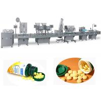 Cheap Auto Pharmaceutical Tablet Bottle Filling Machine Support Bottle Capping And Labeling wholesale