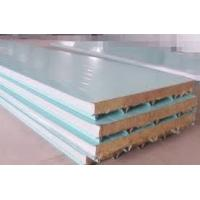 Buy cheap Color Coated Roofing Composite Sandwich Panels Polyurethane PU Sandwich Panel 40 from wholesalers