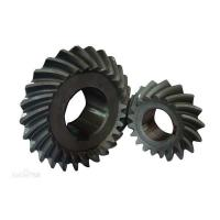 China High Precision OEM heavy Duty Forging Spiral Bevel Gear Shaft on sale