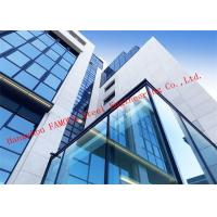 Cheap Half Hidden Frame With Laminated Insulation Double Skin Glass Curtain Wall For Commercial Building wholesale