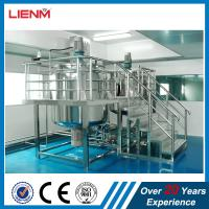 Cheap 2000L Industrial Liquid Detergent Homongenizer Mixer Plant High Precision Cosmetic Product Line Liquid Soap Making Machi wholesale