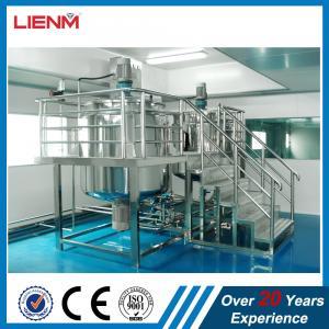 Cheap High Capacity Laundry Liquid Soap Making Machine Of Mixer Liquid Detergent Washing Shampoo Producing Homogenizer Mixer E wholesale