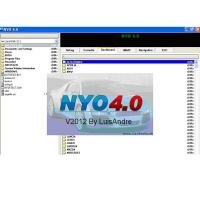 Cheap wl programmer Crack Nyo 4.0 FULL calculator for mileage, stereo, navigation, airbags wholesale