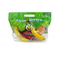Cheap Eco Reusable Clear Fresh Fruit Bags Stand Up Food Grade For Grape / Cherry wholesale