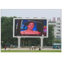 Cheap IP65 Waterproof RGB Multi Color LED Panel Display , 10 Meters Min Viewing Distance LED Video Panel wholesale