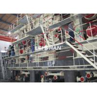 China Energy Saving Corrugated Paper Making Machine For 20t / D Packaging Paper on sale