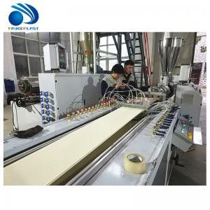 Cheap Panel Making Plastic Profile Production Line , Ceiling Pvc Window Profile Extrusion Line wholesale