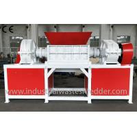Cheap Industrial Waste Wood Pallet Shredder 45 KW With Magnetic Separation System wholesale
