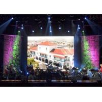 Cheap Electronic Full Color P7.62 SMD 3 in 1 3528 1R1G1B Indoor Led Stage Backdrop Screen wholesale