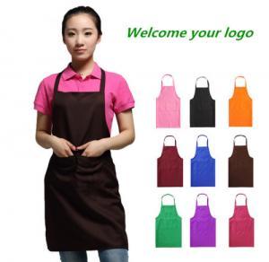 Cheap 100%Polyester apron wholesale