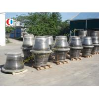 Cheap Dock / Port Black Boat Fenders For Container Terminal , 1000H Cone Type wholesale