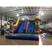 China Classic Inflatanle Indian Obstacle Course Two Parts Inflatable Obstacle Course Outdoor Inflatable Sport Games For Sale on sale