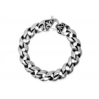 Durable Never Fade Chunky Chain Link Bracelet Punk Rock Jewelry For Men New Casual Design