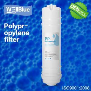 Cheap 5 Micron Sediment Ro Water Purifier Filter , PP Melt Blown Filter Cartridge wholesale