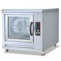 Cheap ISO Food Industry Machines Stainless Steel Omni Directional Rotary Rotisserie wholesale