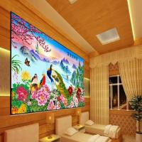 Cheap PLASTIC LENTICULAR 3d lenticular pictures motion 3d wallpaper large format 3d decor painting flip 3d lenticular prints wholesale