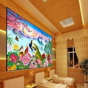Cheap PLASTIC LENTICULAR 3d lenticular pictures motion 3d wallpaper large format 3d decor painting flip 3d lenticular prints wholesale