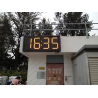 Cheap Large outdoor led gas station price sign waterproof For 4 and 5 digit formats , custom size wholesale