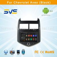 China Android 4.4 car dvd player with GPS for CHEVROLET AVEO 2011 with bluetooth radio usb TV on sale