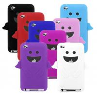 Cheap Red / Black / White Mobile Phone Silicone Cases With Customized Shape For Iphone wholesale