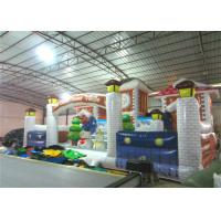 Cheap Commercial Children Custom Made Inflatables Snowman Safe Nontoxic 10 X 6m Waterproof wholesale