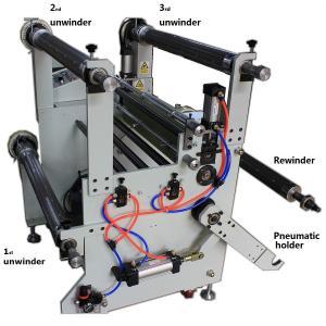Cheap DAPENG 420mm 650mm 3 layer hot roll laminating machine wholesale