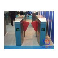 China Fashionable Design Stainless Steel Flap Barrier Turnstile Passage Speed 40 Persons / Min on sale