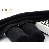 Cheap Black Eco Friendly Comfortable Sports Hand Towels Microfiber Embroidered Hand Towels wholesale