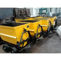Cheap 600mm Guage Bucket Tipping Car Manufacturer wholesale