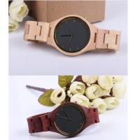 Cheap Fashion Charming Bewell Mens Wooden Watch 100% Natural Wood With Miyota 2035 wholesale