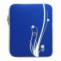 Cheap Neoprene Sleeve for iPad, with Double Zip Closure wholesale