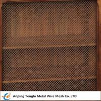 Cheap Wire Mesh Grille Inserts| Press Crimp Weave by Cold Rolled Steel wholesale