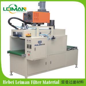 China PLRZ-1000N   Full-auto Hot Melt Filter Paper Bonding Machine on sale