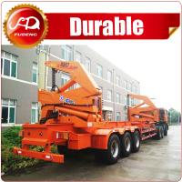 Cheap 40ft 37T loading capacity XCMG Brand Side Lifter Crane Trailer Truck Sidelifter from Shandong Fudeng,China wholesale