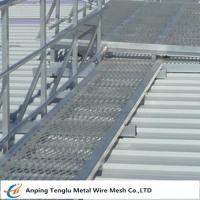 Cheap Raised Mild Steel Expanded Walkway Mesh Expanded Metal Panels 2440x1220 Customized Size wholesale