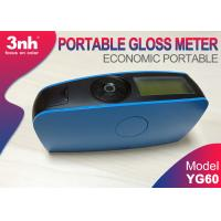 Cheap Blue Gloss Measurement Units YG60 For Glass Cardboard Fabric Gloss Level Assessment wholesale