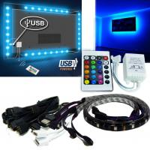 Cheap Bright SMD5050 RGB Flexible Led Strip 5 V USB TV Backlight Kit wholesale